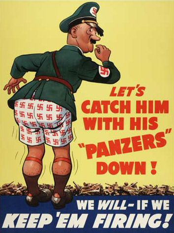 World War 2 propaganda poster